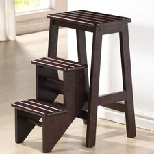 "24"" Step Stool in Cappuccino"