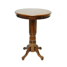 <strong>Boraam Industries Inc</strong> Florence Pedestal Pub Table in Walnut
