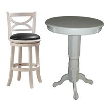<strong>Boraam Industries Inc</strong> Florence 3 Piece Pub Table Set