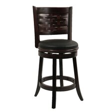"Sumatra 24"" Swivel Bar Stool with Cushion"