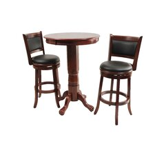Augusta Three Piece Pub Set in Cherry