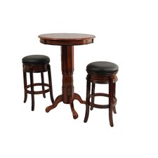 Magellan 3 Piece Pub Set in Brandy