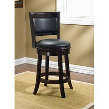 "Augusta 24"" Counter Stool in Cappuccino"