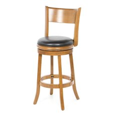 "Palmetto 29"" Bar Stool in Fruitwood"