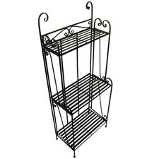 <strong>Pangaea Home and Garden</strong> Folding Piper Baker's Rack