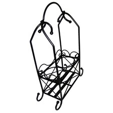 <strong>Pangaea Home and Garden</strong> 2 Bottle Tabletop Wine Rack