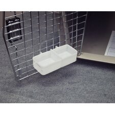 Double Sided Water Cup For Kennels
