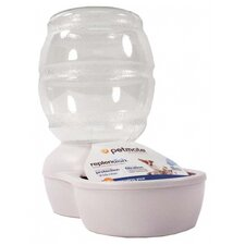 Replendish Pet Waterer with Microban in Pearl White