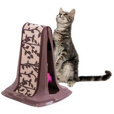 "18"" Lean On Me Cat Scratch Post"