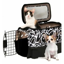 <strong>Petmate</strong> Curvations Top Load Hybrid Pet Carrier