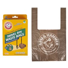Disposable Handle Tie Waste Bag (Set of 20)