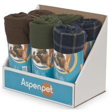 Fleece Pet Throw