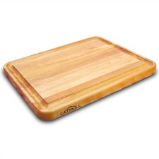"Professional Style 20"" Cutting Board with Finger Grooves"