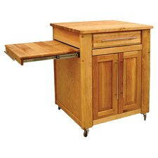 Mini - Empire Kitchen Cart with Butcher Block Top