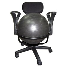 Low-Back Deluxe Ball Chair