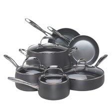 <strong>EarthPan</strong> Hard-Anodized Aluminum 10-Piece Cookware Set