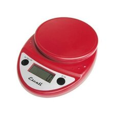 Primo Digital Scale in Warm Red
