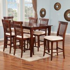 Venetian 7 Piece Pub Table Set