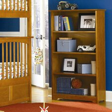 Windsor Four Tier Bookcase in Caramel Latte