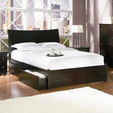 <strong>Atlantic Furniture</strong> Milano Storage Platform Bed