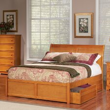 Bordeaux Storage Platform Bed