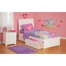 <strong>Atlantic Furniture</strong> Urban Lifestyle Portland Bed with Bed Drawers Set
