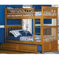 <strong>Atlantic Furniture</strong> Columbia Bunk Bed with Trundle Bed