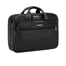 @work Leather Laptop Briefcase
