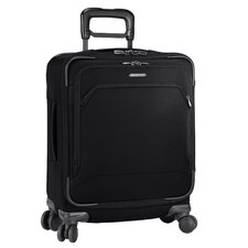 "Transcend 20.8"" International Carry-On Spinner Suitcase"