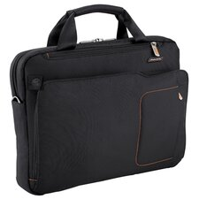 Verb Groove Slim Briefcase in Black