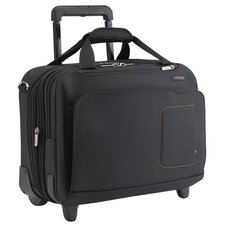 Verb Span Expandable Rolling Briefcase in Black