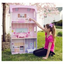 Modern Doll House with Furniture