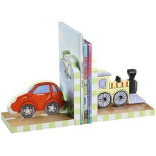 <strong>Teamson Kids</strong> Transportation Book End (Set of 2)