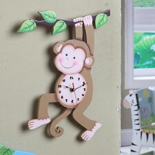 <strong>Teamson Kids</strong> Sunny Safari Wall Clock