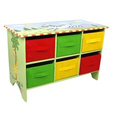 Sunny Safari Storage 6 Compartment Cubby