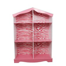 "Fashion Prints Zebra 42.5"" Bookshelf"