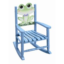 <strong>Teamson Kids</strong> Sunny Safari Frog Kid's Rocking Chair