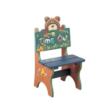 Safari Time Out Bear Kid's Desk Chair