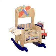 Potty Wings and Wheels Kid's Rocking Chair