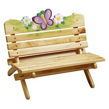 <strong>Teamson Kids</strong> Magic Garden Kid's Bench