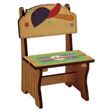Little Sports Fan Time Out Kid's Desk Chair