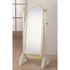 "Alphabet 51"" H x 20"" W Children's Standing Mirror"