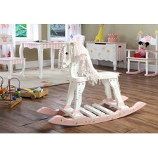 <strong>Teamson Kids</strong> Princess and Frog Rocking Horse