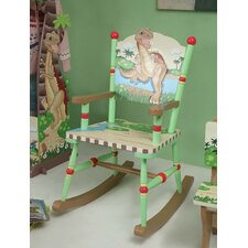 <strong>Teamson Kids</strong> Dinosaur Kingdom Children's Rocking Chair
