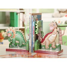 Dinosaur Kingdom Children's Bookends