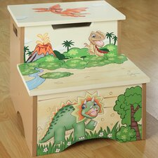 <strong>Teamson Kids</strong> Dinosaur Kingdom Children's Stool