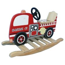 Fire Engine Rocking Horse