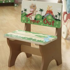 Dinosaur Kingdom Children's Timeout Desk Chair