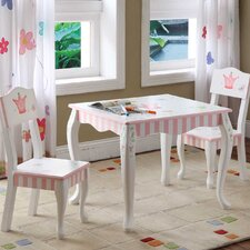 <strong>Teamson Kids</strong> Princess and Frog Kids' Table and Chair Set