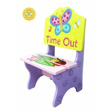 <strong>Teamson Kids</strong> Magic Garden Kids Timeout Desk Chair
